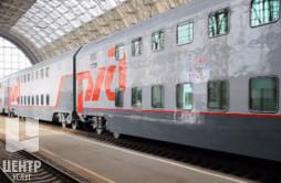 Двухэтажный поезд Москва — Самара